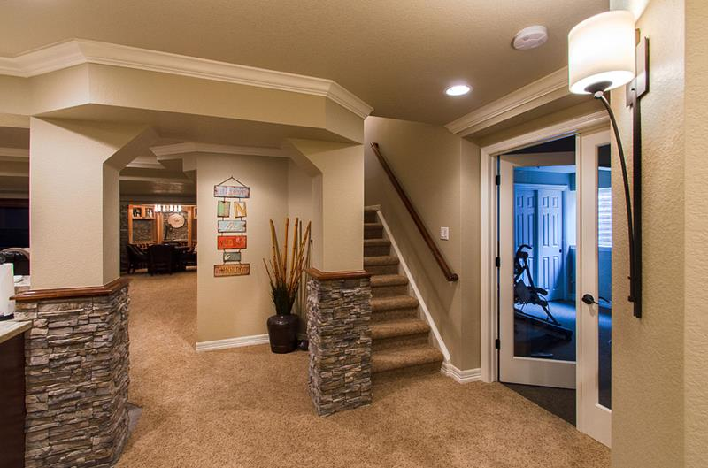 27 Luxury Finished Basement Designs-title