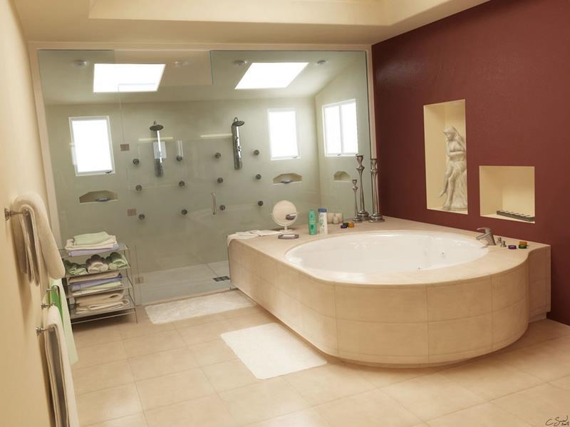 28 Stunningly Luxurious Bathroom Designs-10
