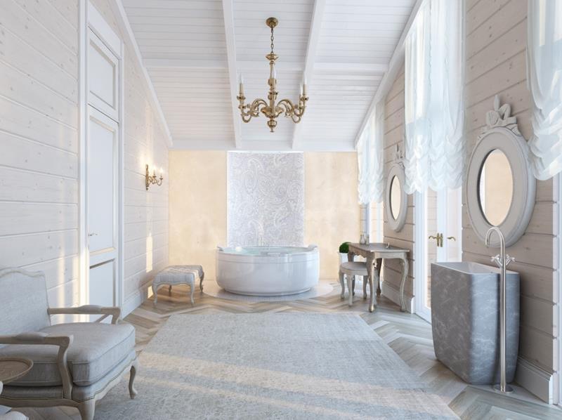 28 Stunningly Luxurious Bathroom Designs-13
