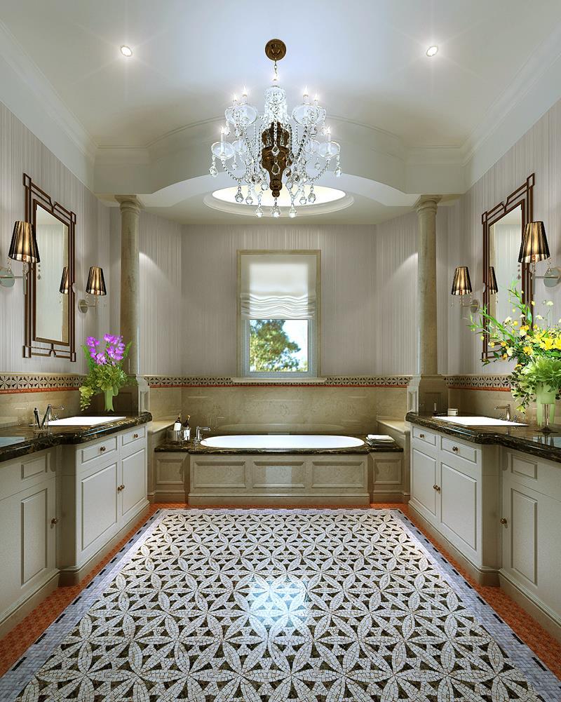28 Stunningly Luxurious Bathroom Designs-14