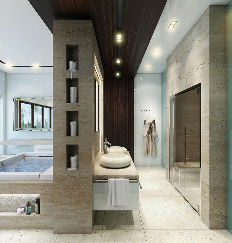 28 Stunningly Luxurious Bathroom Designs-16