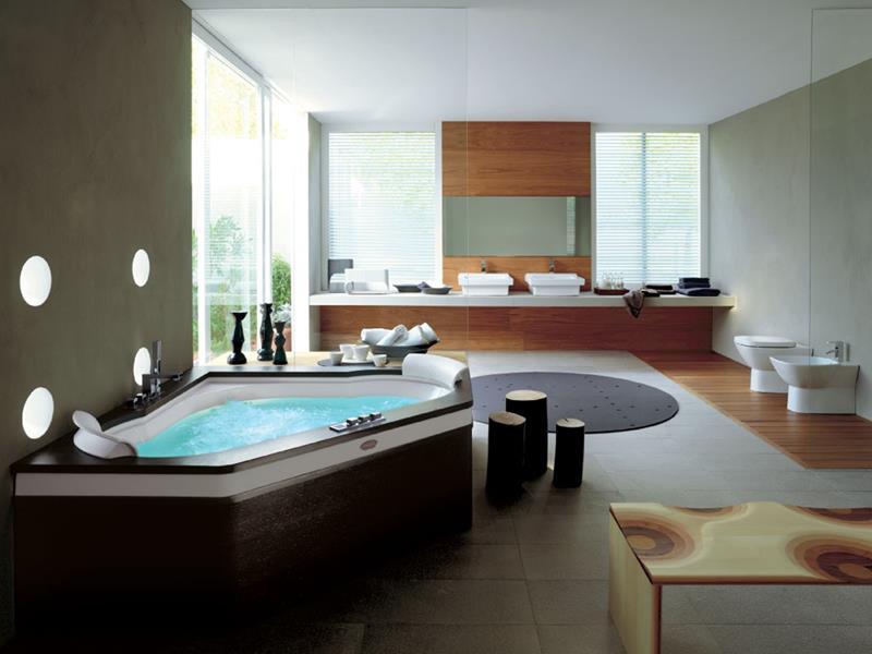28 Stunningly Luxurious Bathroom Designs-7