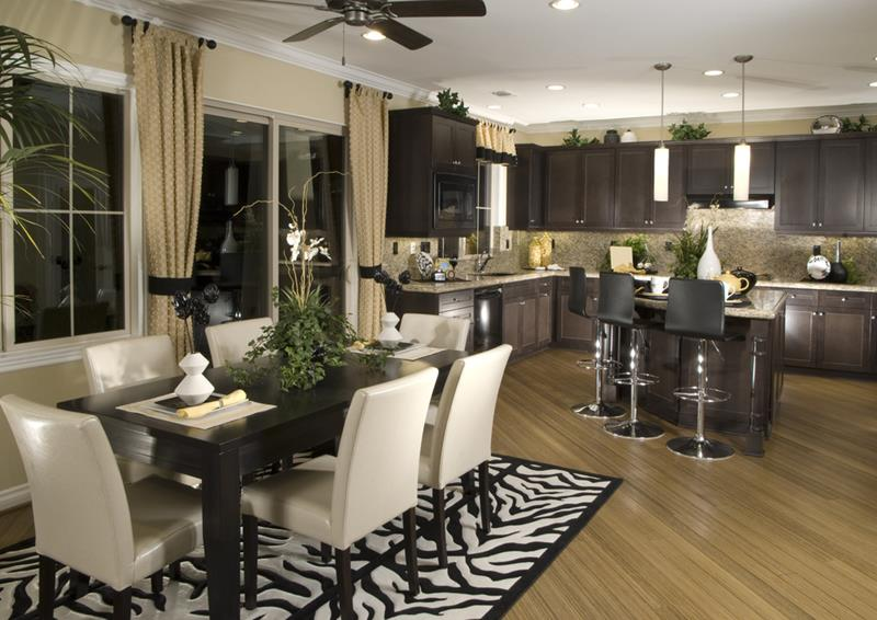 29 Awesome Open Concept Dining Room Designs-13