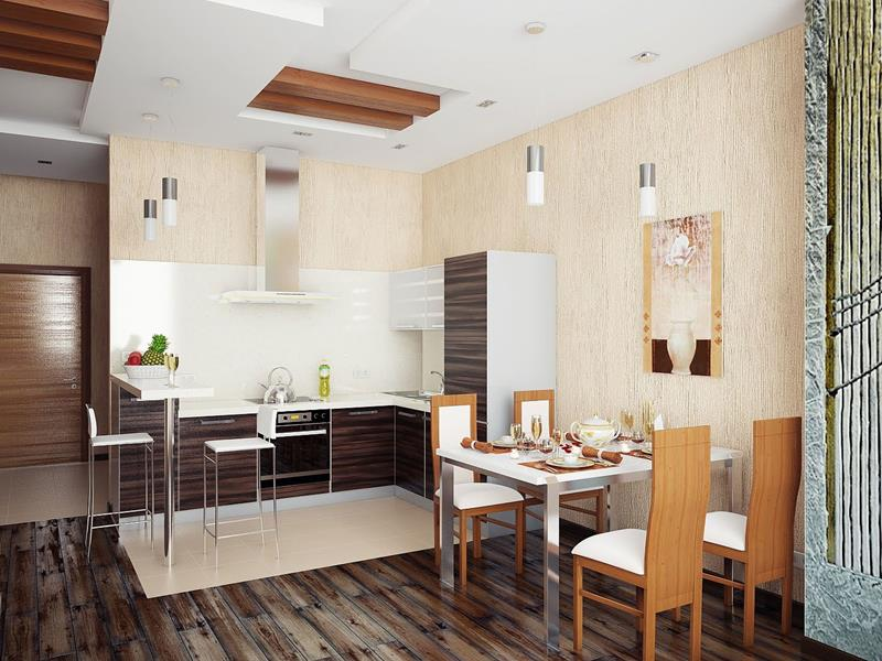 29 Awesome Open Concept Dining Room Designs-21