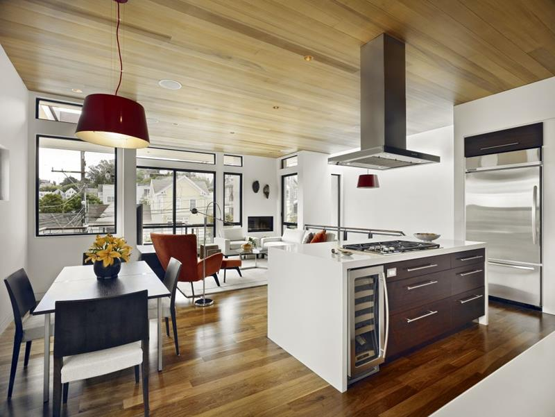 29 Awesome Open Concept Dining Room Designs-7