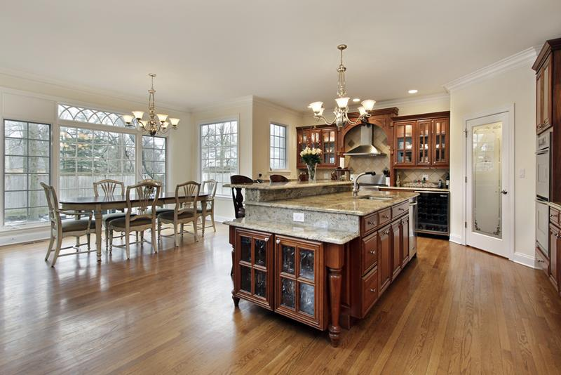 29 Awesome Open Concept Dining Room Designs-9