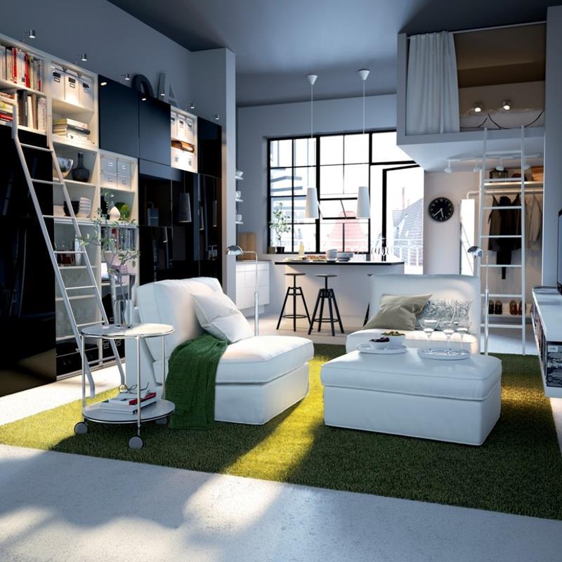 74 Small Living Room Design Ideas-15