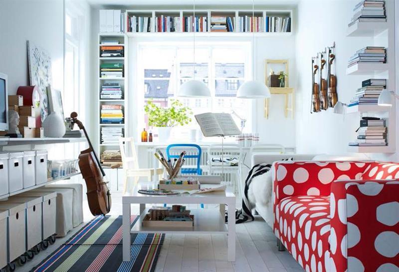 74 Small Living Room Design Ideas-20