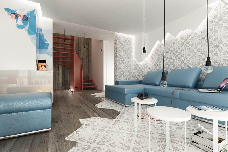 74 Small Living Room Design Ideas-40
