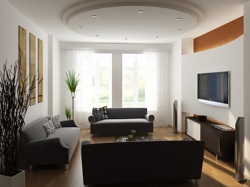 74 Small Living Room Design Ideas-6