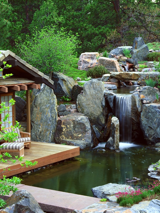 image named relaxing backyard and garden waterfalls 1