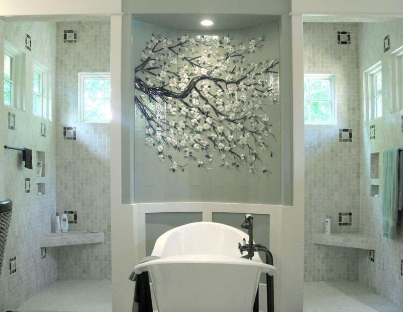 37 Bathrooms With Walk In Showers-11