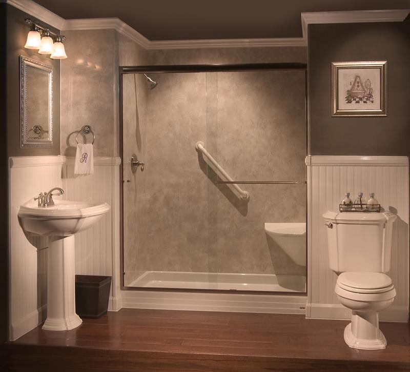 37 Bathrooms With Walk In Showers-14