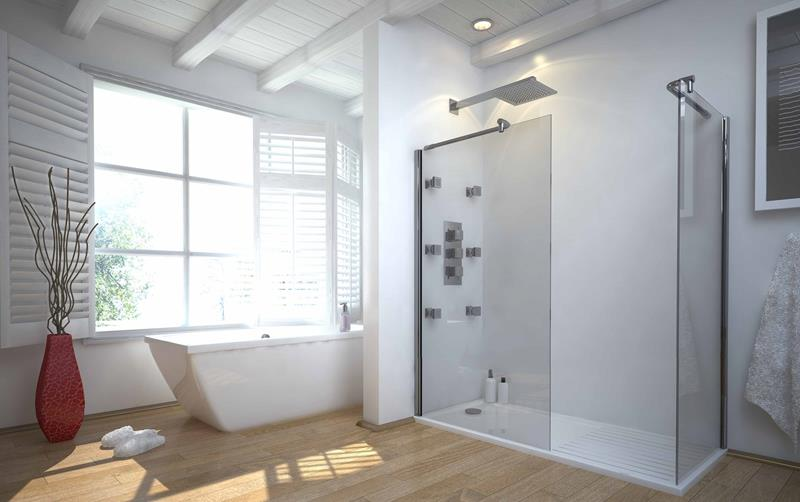 37 Bathrooms With Walk In Showers-5