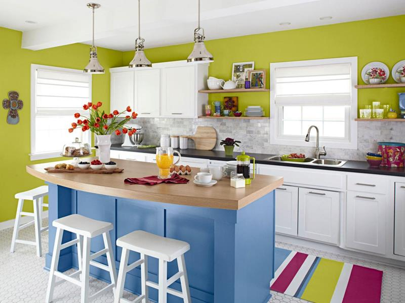 51 awesome small kitchen with island designs  page 3 of 10