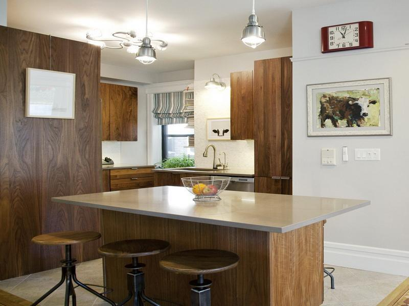 51 Awesome Small Kitchen With Island Designs-21