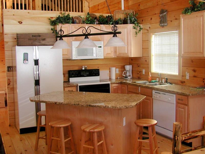 51 Awesome Small Kitchen With Island Designs-23