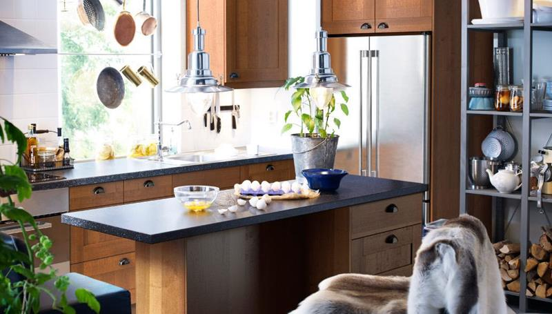 51 Awesome Small Kitchen With Island Designs-28
