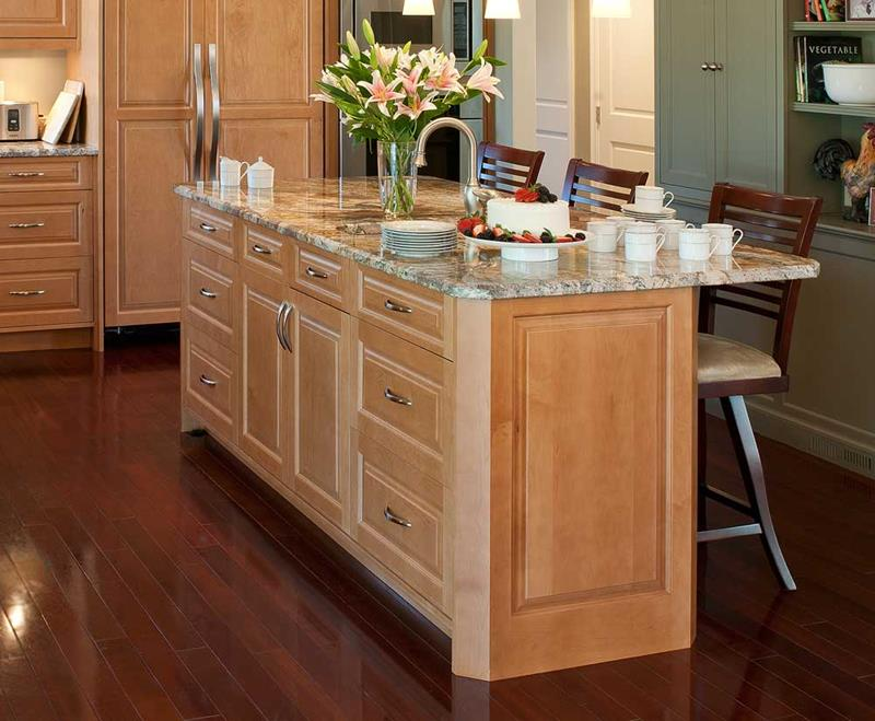 51 Awesome Small Kitchen With Island Designs-33