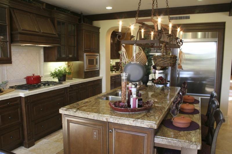 51 Awesome Small Kitchen With Island Designs-46
