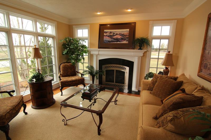 54 Comfortable and Cozy Living Room Designs-20
