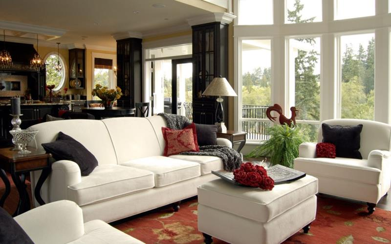 54 Comfortable and Cozy Living Room Designs-21