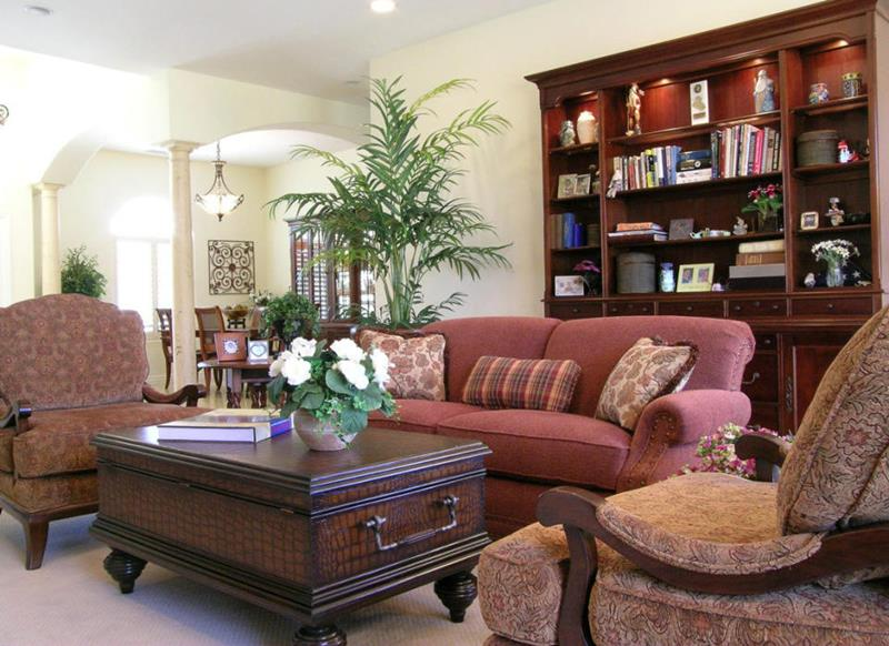 54 Comfortable and Cozy Living Room Designs-24