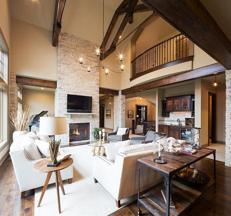 54 Comfortable and Cozy Living Room Designs-33