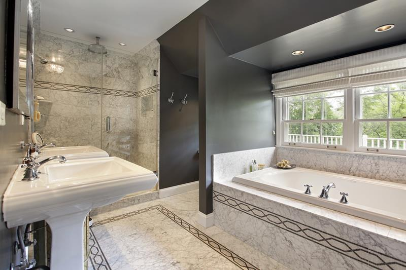 image named 55 Amazing Luxury Bathroom Designs 1