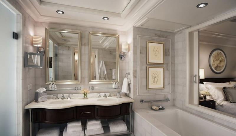 55 Amazing Luxury Bathroom Designs-5