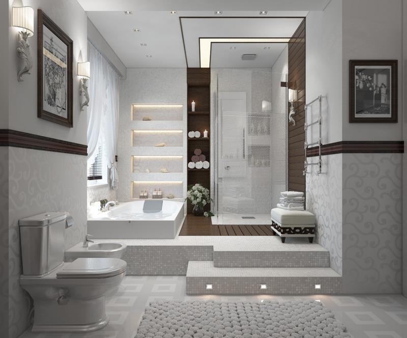 55 Amazing Luxury Bathroom Designs-9