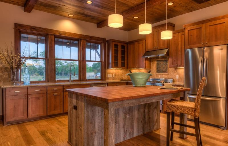 81 Absolutely Amazing Wood Kitchen Designs-35