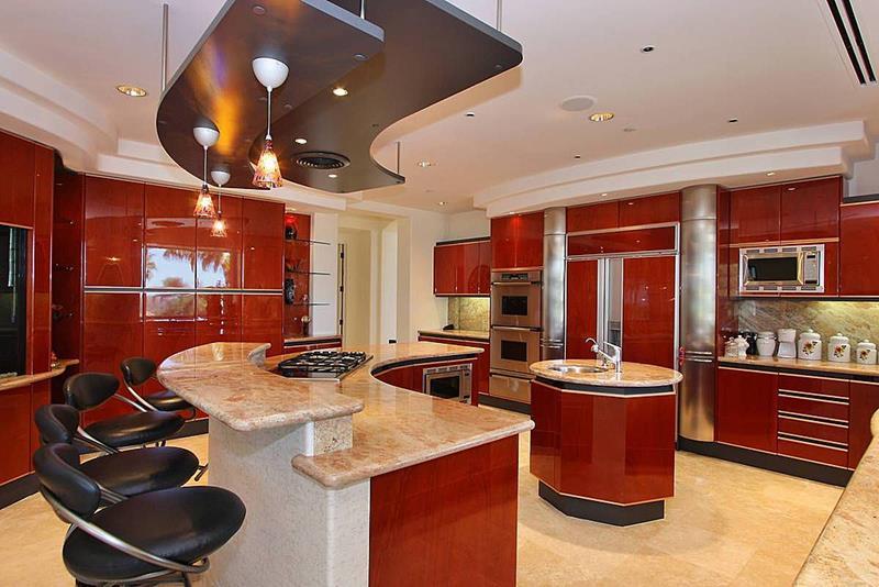120 Custom Luxury Modern Kitchen Designs-109