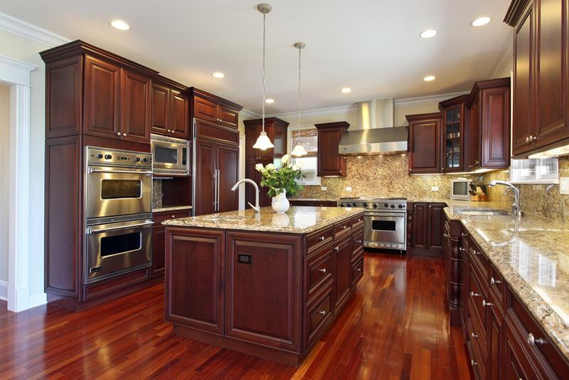 20 Beautiful Kitchens with Dark Kitchen Cabinets Design-11