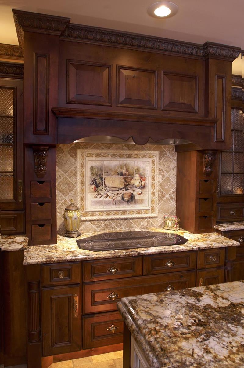 20 Beautiful Kitchens with Dark Kitchen Cabinets Design-4