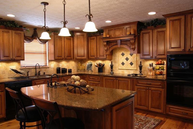 20 Beautiful Kitchens with Dark Kitchen Cabinets Design-6