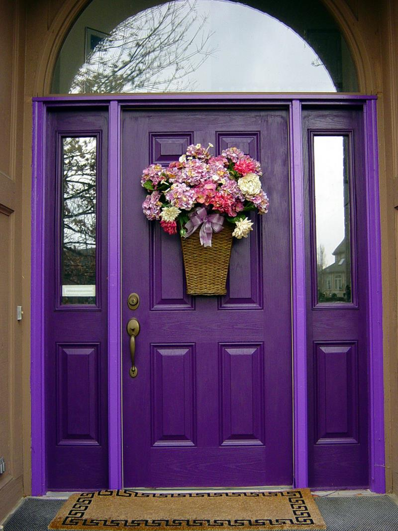 21 Cool Front Door Designs For Houses-1
