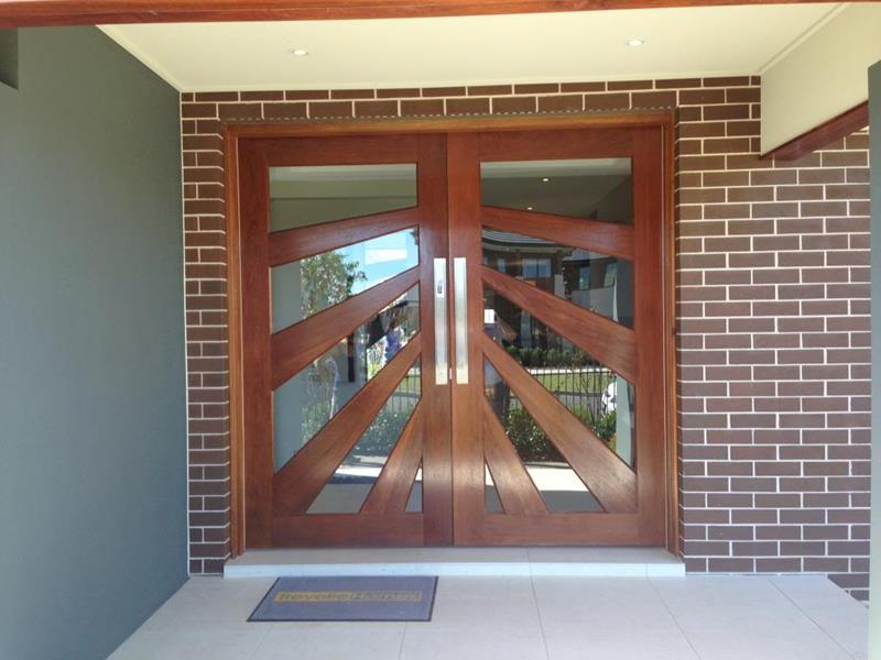 21 Cool Front Door Designs For Houses-13