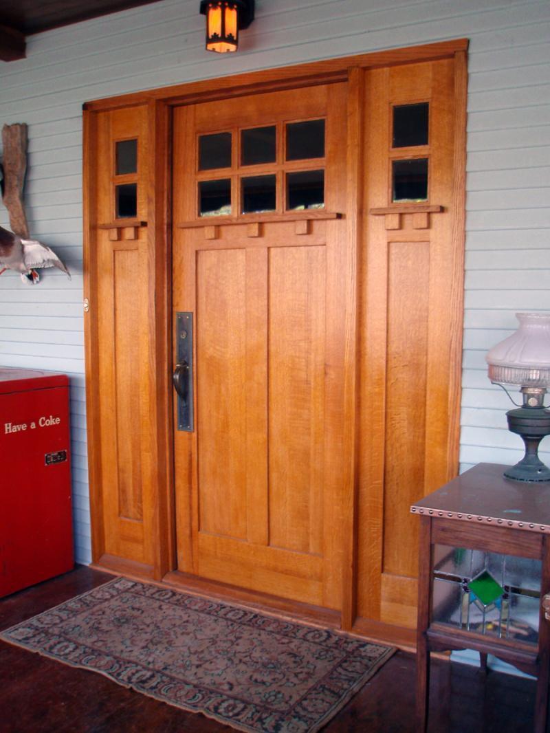 21 Cool Front Door Designs For Houses-17