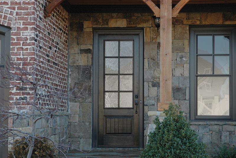21 Cool Front Door Designs For Houses-21