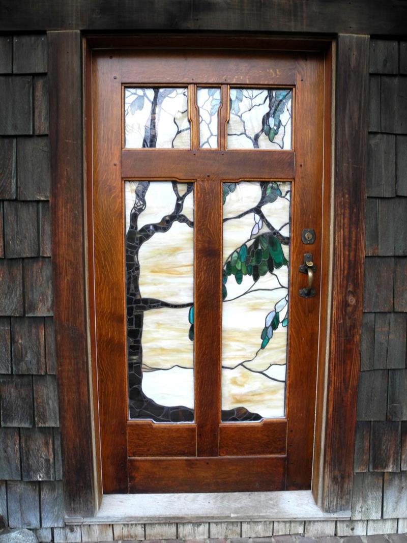 21 Cool Front Door Designs For Houses-6