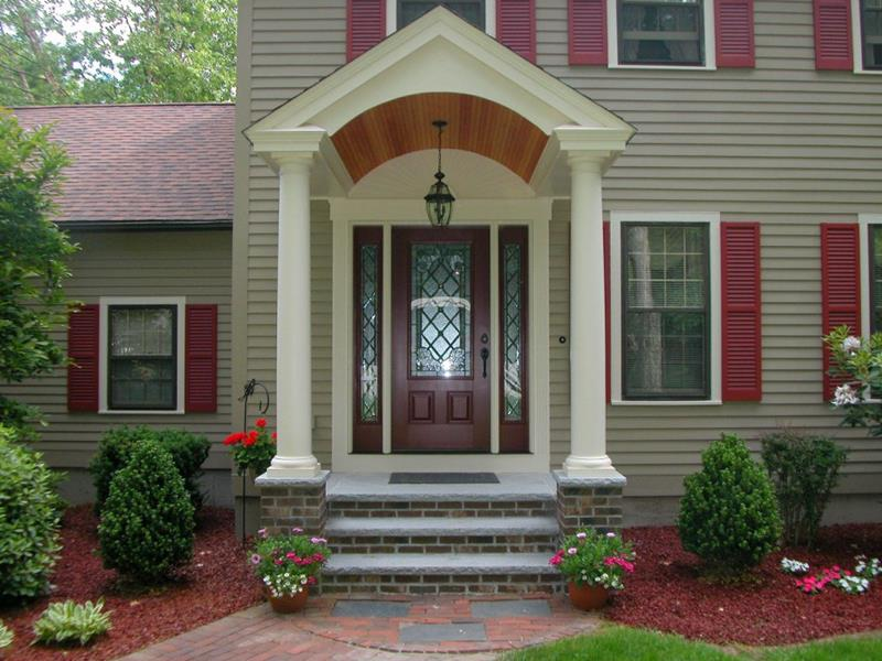 21 Cool Front Door Designs For Houses-9