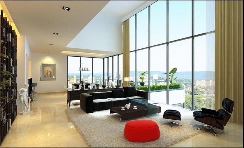 22 Elegant Living Rooms That Are Beautifully Decorated-15