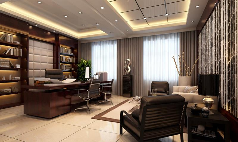 24 Luxury and Modern Home Office Designs-10
