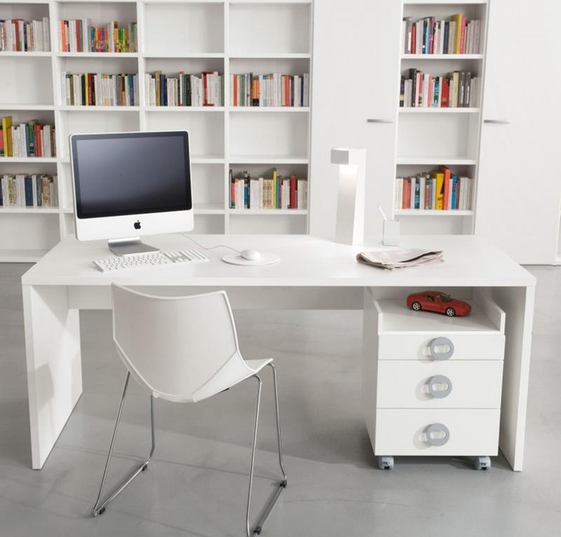 24 Luxury and Modern Home Office Designs-17