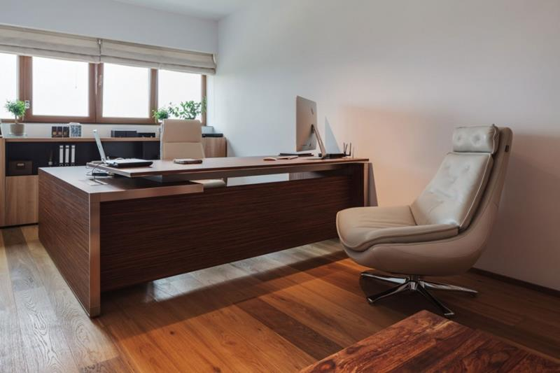 24 Luxury and Modern Home Office Designs-5