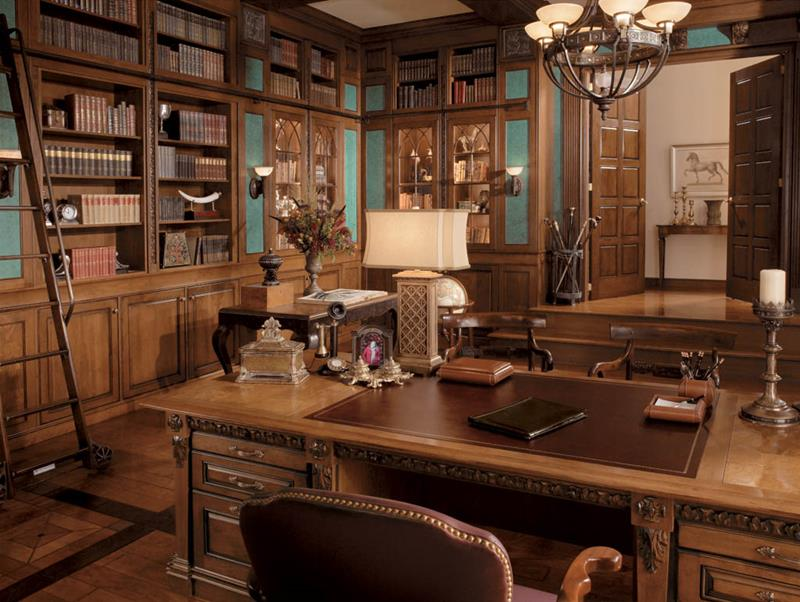 24 Luxury and Modern Home Office Designs-7