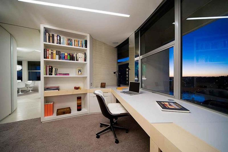 24 Luxury and Modern Home Office Designs-8