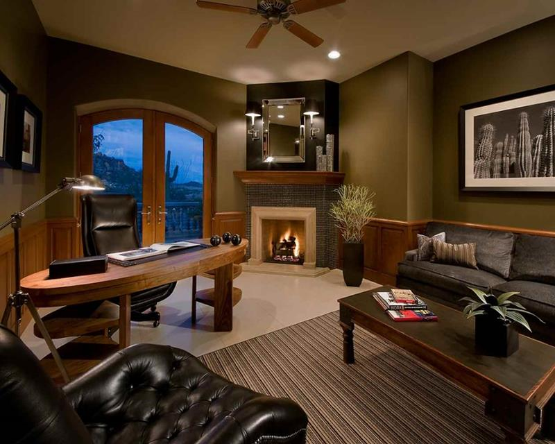24 Luxury and Modern Home Office Designs-title