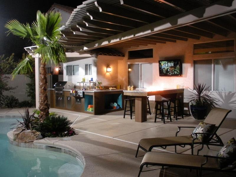 47 Outdoor Kitchen Designs and Ideas-15